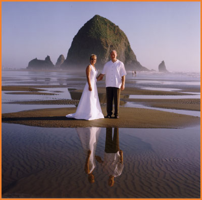 Cannon Beach Oregon Wedding Photography by Jim Stoffer