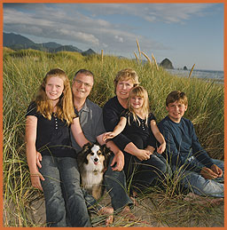 Cannon Beach, Oregon,  portrait photography by Jim Stoffer  Photographer